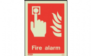 6450D/R - FIRE ALARM LOCATION SIGN 150 x 200mm